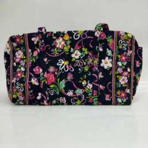 NWOT Vera Bradley large duffel Bag Ribbons